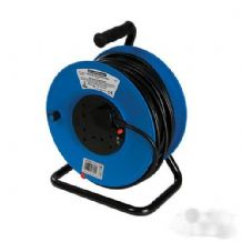 Cable Reel 240V 13A 50m 4 Socket